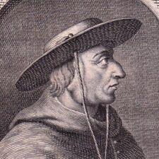 Portrait XVIIIe Guillaume Briçonnet Evêque de Meaux Eglise Catholique