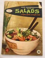Vintage Good Housekeeping BOOK OF SALADS Cookbook (1958, Paperback)