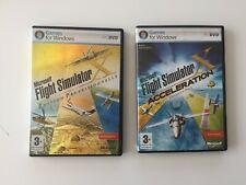 Microsoft Flight Simulator X edition professionnelle + acceleration pak PC FR