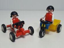 Dificil Triciclo Kart Playmobil 3596 Antiguo Parque Infantil Niños Juguete