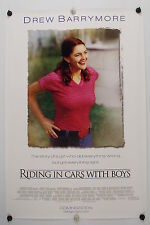 RIDING IN CARS WITH BOYS - Original Movie Poster - 2002  Rolled DS C9/C10