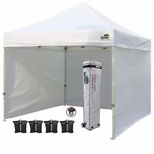 New listing Eurmax 10'x10' Ez Pop-up Canopy Tent Commercial Instant Tent with 4 Removable .