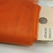 "Premium Stiff Net Honey Comb Tulle Fabric Width 54""Width x 25 Y Length UK Seller"
