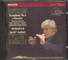 BEETHOVEN - Symphony 9 - Frans BRUGGEN / Orchestra Of The 18th Century - Philips