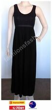 Rayon Hand-wash Only Solid Maxi Dresses for Women