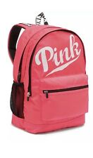 NWT VICTORIA'S SECRET PINK CAMPUS BACKPACK BOOKPACK FULL SIZE NEON PINK GYM TOTE