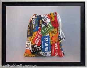 Gymnastics Leotard Grip Bags / License Plate Gymnast Birthday Goody Bag