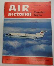 Air Pictorial Magazine Canadair Argus March 1974 FAL 062215R2