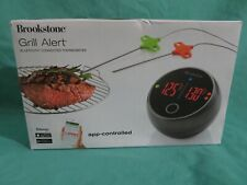 New listing New in Box Brookstone Grill Alert Bluetooth App Connected Bbq Thermometer
