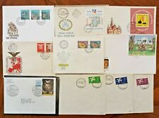 SWEET lot of 10 VARIETY 🌐 WW FDC/COVERS - SOME RARELY SEEN VINTAGE- THEMES