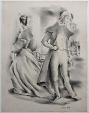 3 Lithographies originales de Mariette LYDIS (1894-1970) signées au crayon
