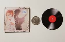 Miniature record Album Barbie Gi Joe 1/6   Playscale  David Bowie Scary Monsters