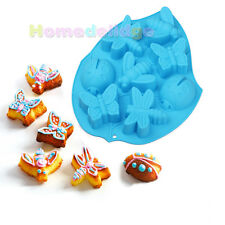 Butterfly Silicone Muffin Pan Chocolate Cake Bakeware Baking Mould Tray Tools
