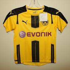 BNWT Borussia Dortmund kids shirt jersey trikot maillot Puma Small UK 7-8yrs