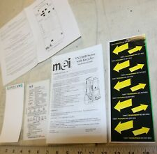 MEI Mars VN2700 decals, instructions, stickers lot for 1 price