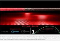 BRAND NEW ALDILA TOUR RED ATX 75 R REGULAR  HYBRID SHAFT .370 PARALLEL RESCUE