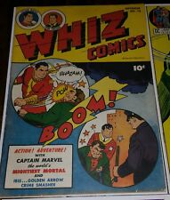 WHIZ Comics #75 Solid Comic Complete Attach Great Coloring FAWCETT