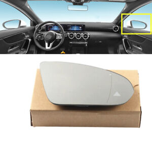 Fit For Benz A-Class W177 Right Side Blind Spot LCA Wing Mirror Glass Heating