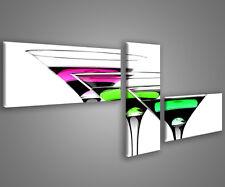 Quadri moderni cocktail 180 x 70 stampe su tela canvas con telaio MIX-S_86