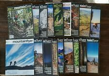 Mountain Flyer Magazines, 18 Issues which includes March 2015-July 2018