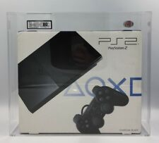 PS2 Slim Console Charcoal Black:Model SCPH-90004 (New & Sealed) UKG GRADED 80NM!