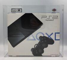 Console PS2 Slim Anthracite Noir: Modèle SCPH - 90004 (NEW & SEALED) UKG classé 80 Presque comme neuf!