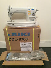 JUKI DDL 8700 industriale LOCKSTITCH Straight Stitch MACCHINA DA CUCIRE-SOLO TESTA