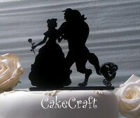 Beauty and the Beast Acrylic Wedding,Birthday cake topper decorations