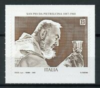 Italy Stamps 2018 MNH San Padre Pio Famous People Religion Priests 1v S/A Set