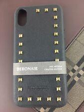 Santa Barbara POLO & RACQUET CLUB iPhone X/XS TPU/PU Case Design-Noir