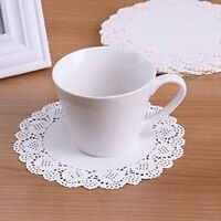 "4.5"" 100Pcs/Bag Round Paper Lace Doilies For Cardmaking Scrapbooking Displaying"