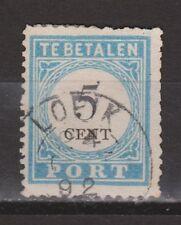 Port nr.6 cancel LOPIK gestempeld used NVPH Nederland Netherlands due portzegel