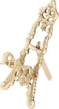 "Bard's Ornate Brass Easel, 6"" H x 3"" W x 3"" D"