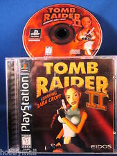 Playstation PS1 Tomb Raider II Complete Video Game