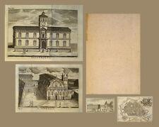 1787 Ferrara Guide Italia Guida del forestiere per la città di Ferrara Frizzi
