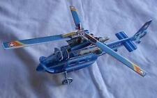 Blue Helicopter Educational 3D Puzzle Easy to Make Building Model Kit Gift ✈