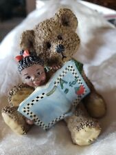 """Sarah'S Attic Teddy Bear Heavenly Peepers """"Story Hour"""" Numbered 0195"""