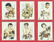 VICTORIA  GALLERY - SET OF L 21  BOXING  CHAMPIONS  2ND  SERIES  CARDS  -  1992