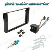 Double DIN Black Facia Fascia for Ford Car Radio CD Stereo Fitting Kit