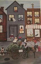 African American Art Annie Lee Sweet And Juicy Print Liquidation Sale