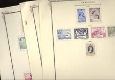 SWAZILAND, Excellent Mint  Stamp Collection hinged on Scott Specialty pages