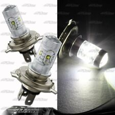 1x Pair H4 9003 HB2 30W 6 LED White Projector Bulbs For Nissan Scion Mitsubishi