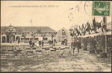 51 REIMS CARTE POSTALE CONCOURS INTERNATIONAL DE TIR 1908