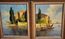 Öl-Malerei aus Italien mit Landschafts-Thema