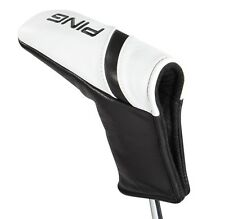 NEW Ping 100% Leather Blade Putter White/Black Headcover