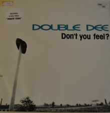 "DOUBLE DEE - Don't Youu Feel? - 12"" Maxi 1991"