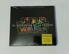 STAR WARS SPANISH 2 CD EL DESPERTAR DE LA FUERZA DIGIPACK LIMITED 2 POSTCARDS