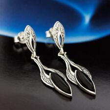 Onyx - Silber 925 - Ohrstecker Ohrringe S226