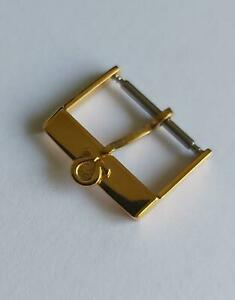 OMEGA 16mm BRACELET BAND GOLD PLATED ORIGINAL WATCH BUCKLE