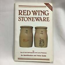 RED WING STONEWARE History Identification and Value Guide Illustrated 8.5 x 5.5